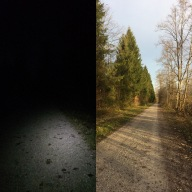 Out of the dark, into the light, 4 Stunden-Lauf