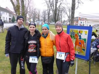 Von links nach rechts: Eugen, Verena, Megy und ich