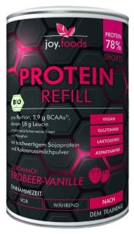 Protein-Refill-Erdbeer-Vanille-bio-300g-Pulver-V1